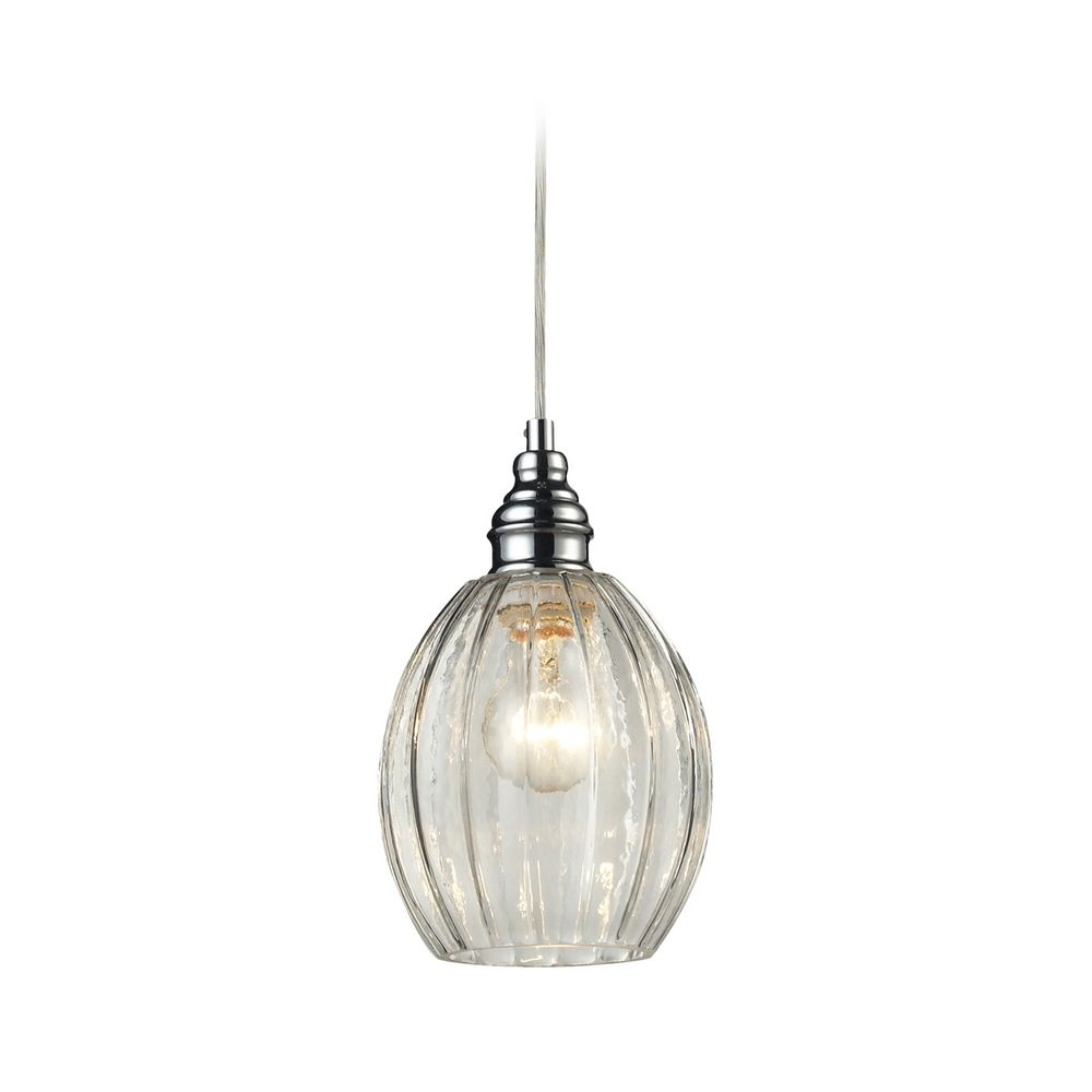 Mini Pendant Light With Clear Glass