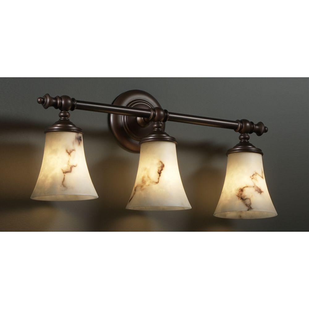 Justice Bathroom Lighting: Justice Design Group Lumenaria Collection Bathroom Light
