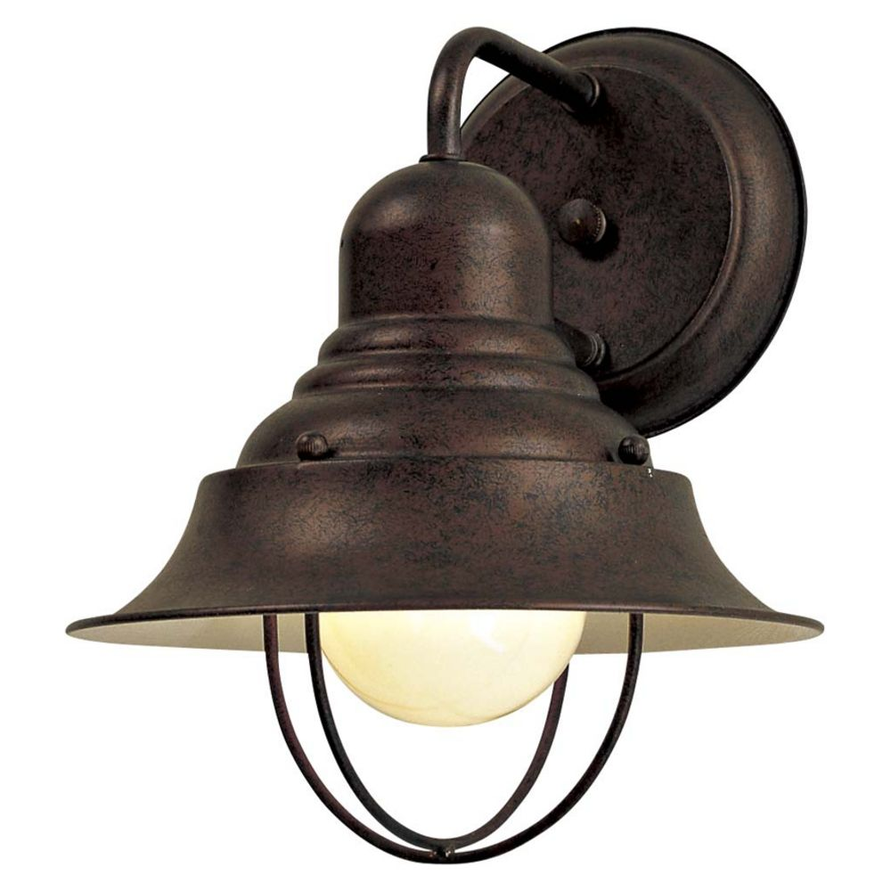 Vintage Outdoor Wall Lamps : Outdoor Wall Light in Antique Bronze Finish 71167-91 Destination Lighting