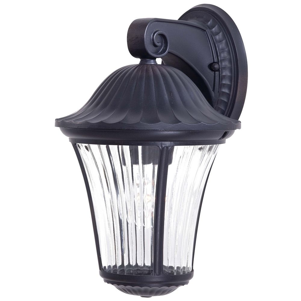 Outdoor Wall Light with Clear Glass in Heritage Finish 8232-94 Destination Lighting