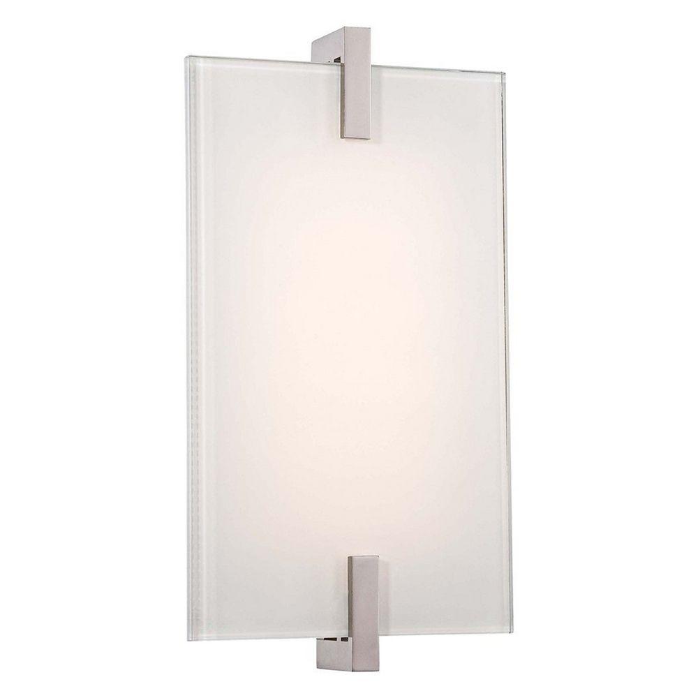 george kovacs lighting george kovacs jewel box wall lights  - george kovacs lighting modern led sconce wall light in polished nickelfinish p