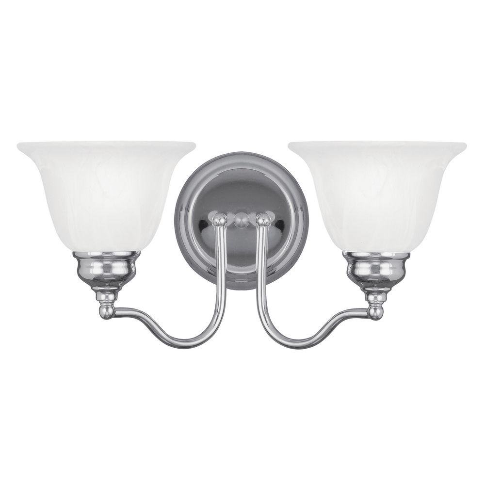 Bathroom Lights Essex livex lighting essex chrome bathroom light | 1352-05 | destination