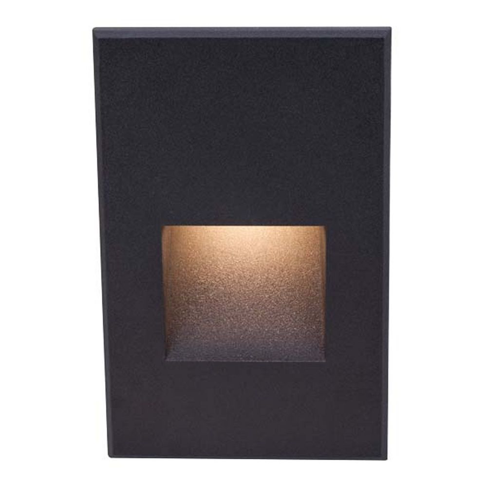 Wac lighting black led recessed step light wl led200 c bk hover or click to zoom arubaitofo Gallery