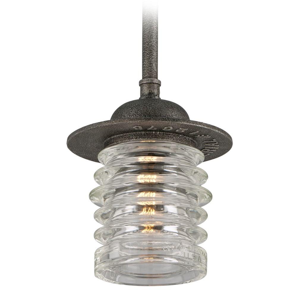 Troy Lighting Watson Charred Zinc Pendant Light