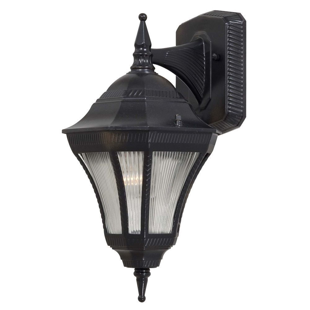 Outdoor Wall Light with Clear Glass in Heritage Finish 8201-94 Destination Lighting
