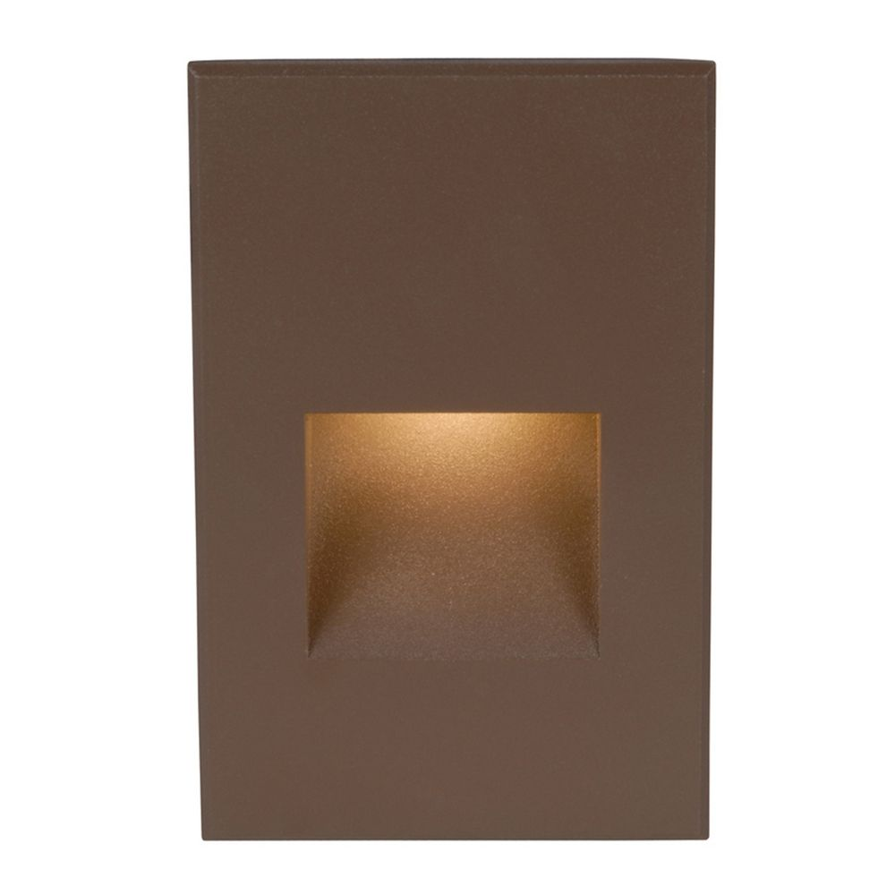 Lighting Basement Washroom Stairs: WAC Lighting Bronze LED Recessed Step Light