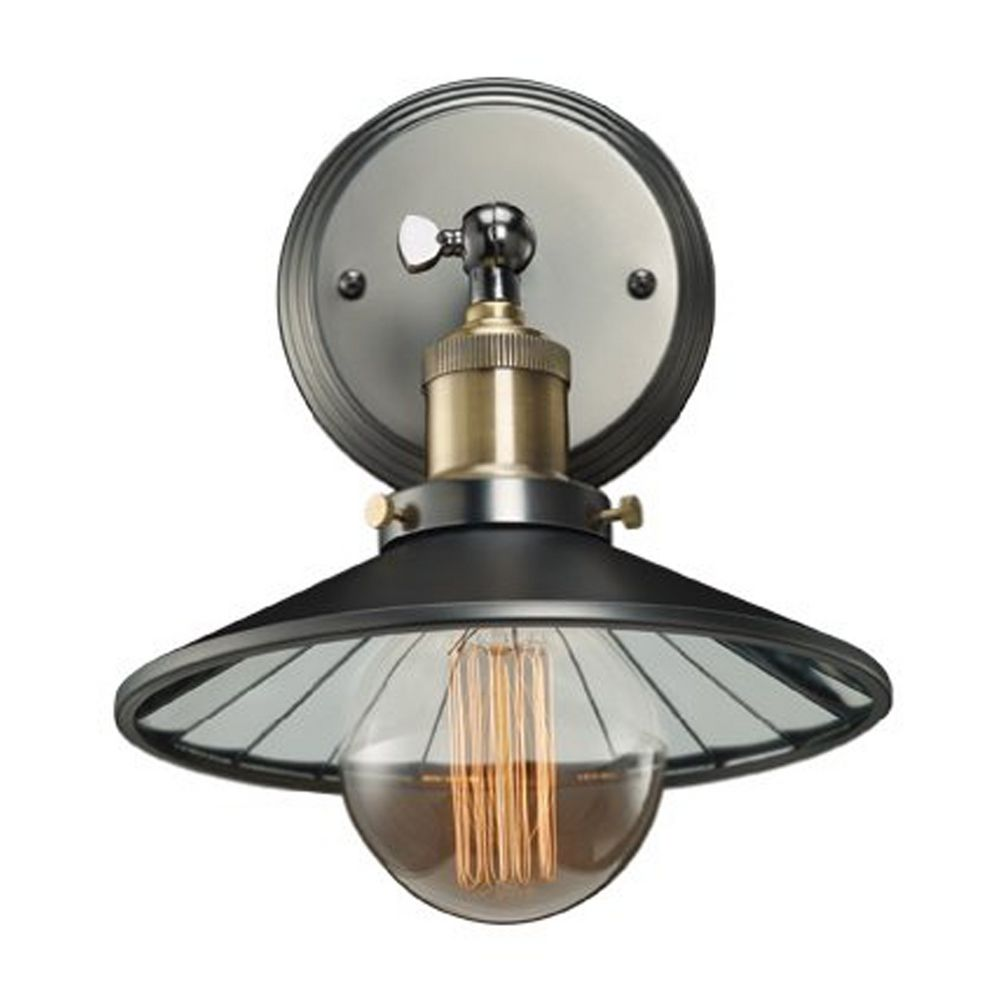 Sconce Wall Light in Antique Pewter Finish 810021 Destination Lighting