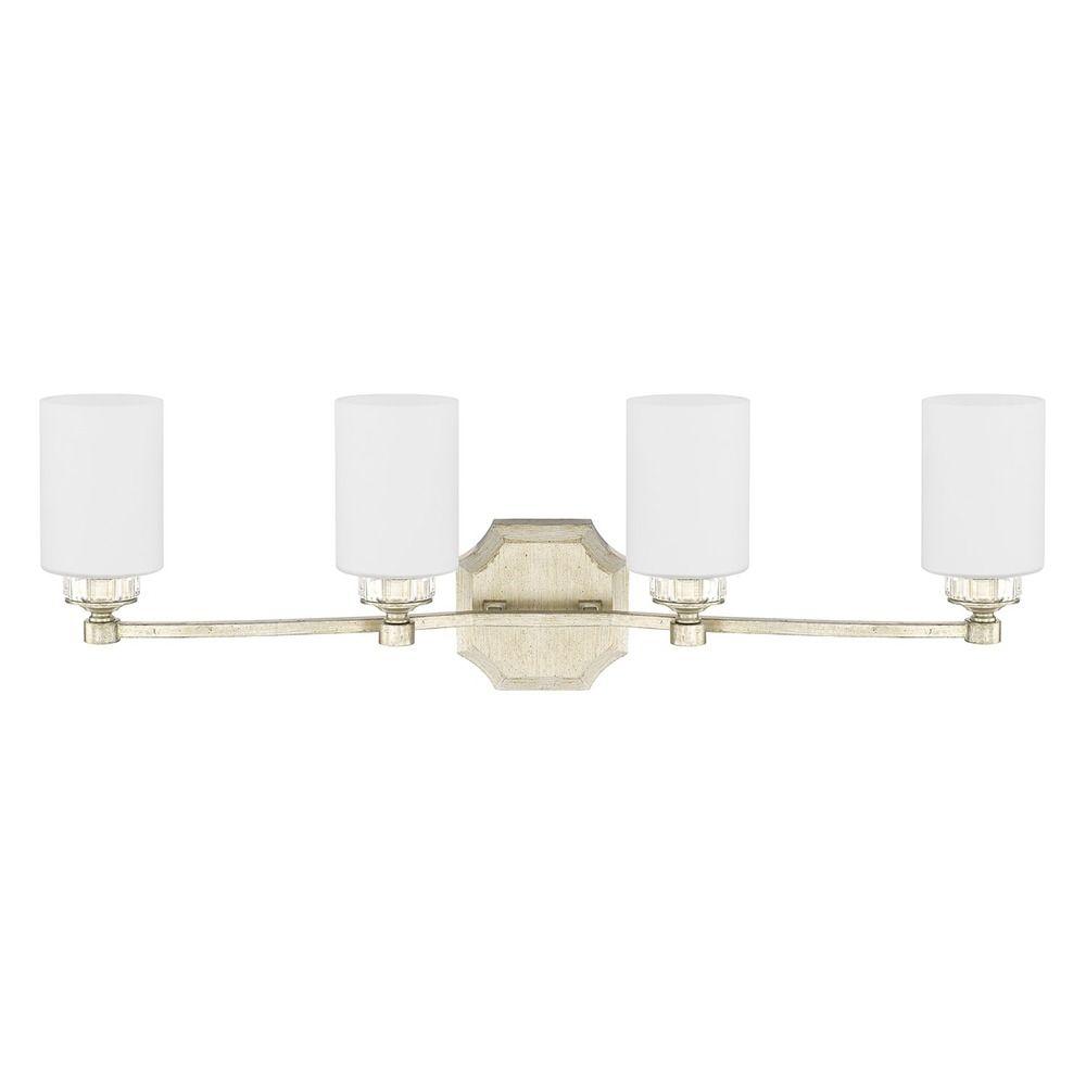 Creative  Lighting 8107BA3WG Torbellino 3 Light Bath Vanity In White Gold