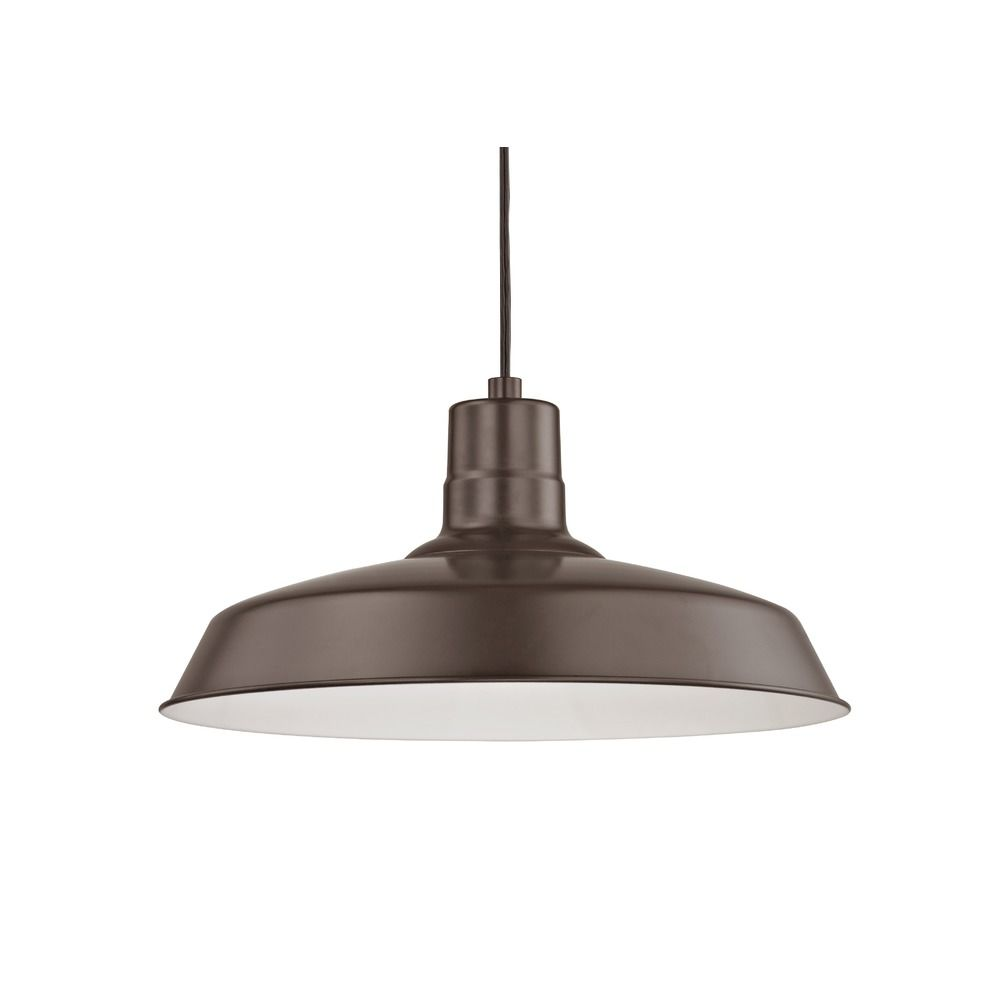 Barn light cord hung pendant light bronze with 16 inch shade bl recesso lighting by dolan designs barn light cord hung pendant light bronze with 16 inch hover or click to zoom arubaitofo Image collections
