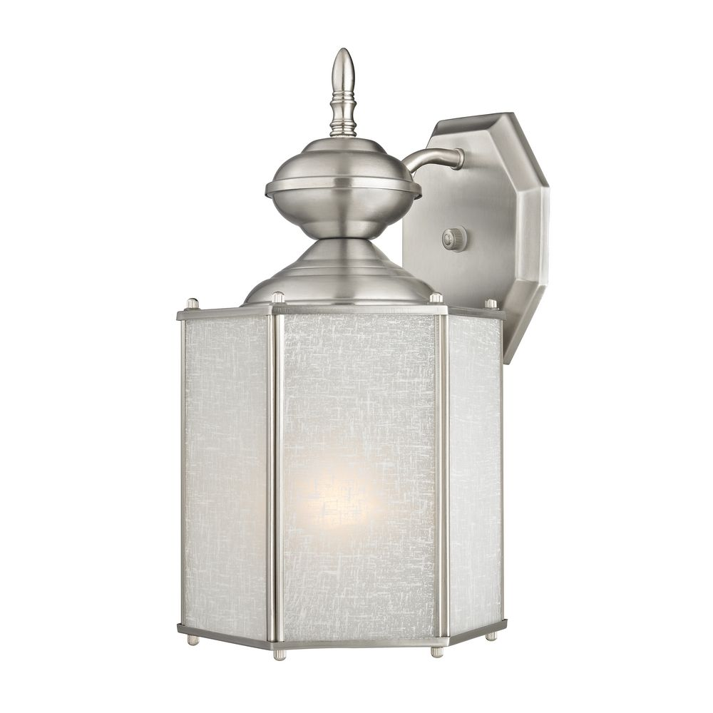 Outdoor wall light with white hexagon glass 344 sn destination design classics lighting outdoor wall light with white hexagon glass 344 sn mozeypictures Image collections