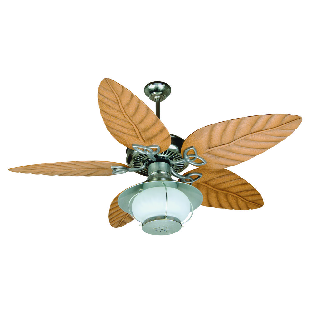 Craftmade Lighting Outdoor Patio Fan Galvanized Ceiling