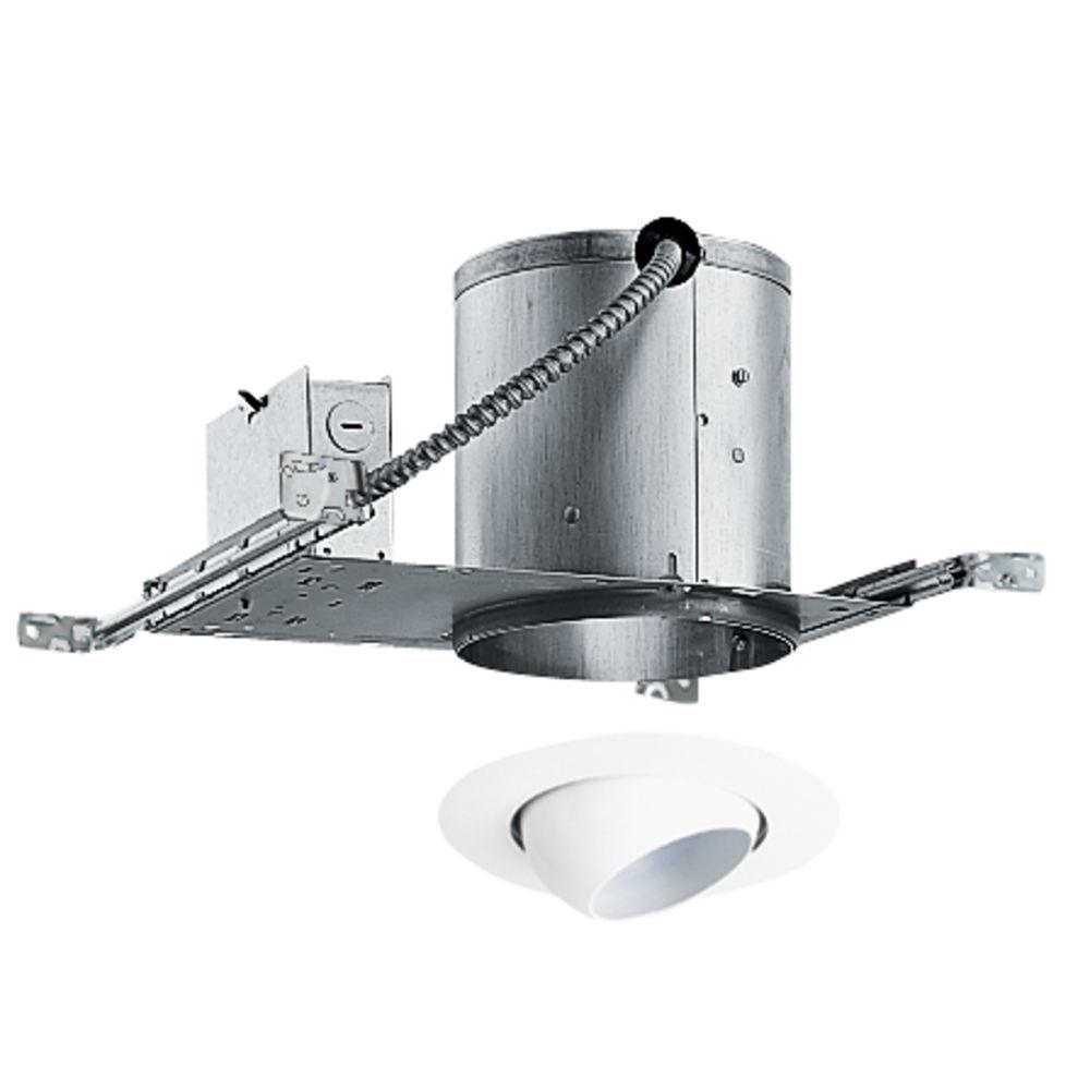 6 inch recessed lighting kit with eyeball trim ic22229wh juno lighting group 6 inch recessed lighting kit with eyeball trim ic22229wh aloadofball Images