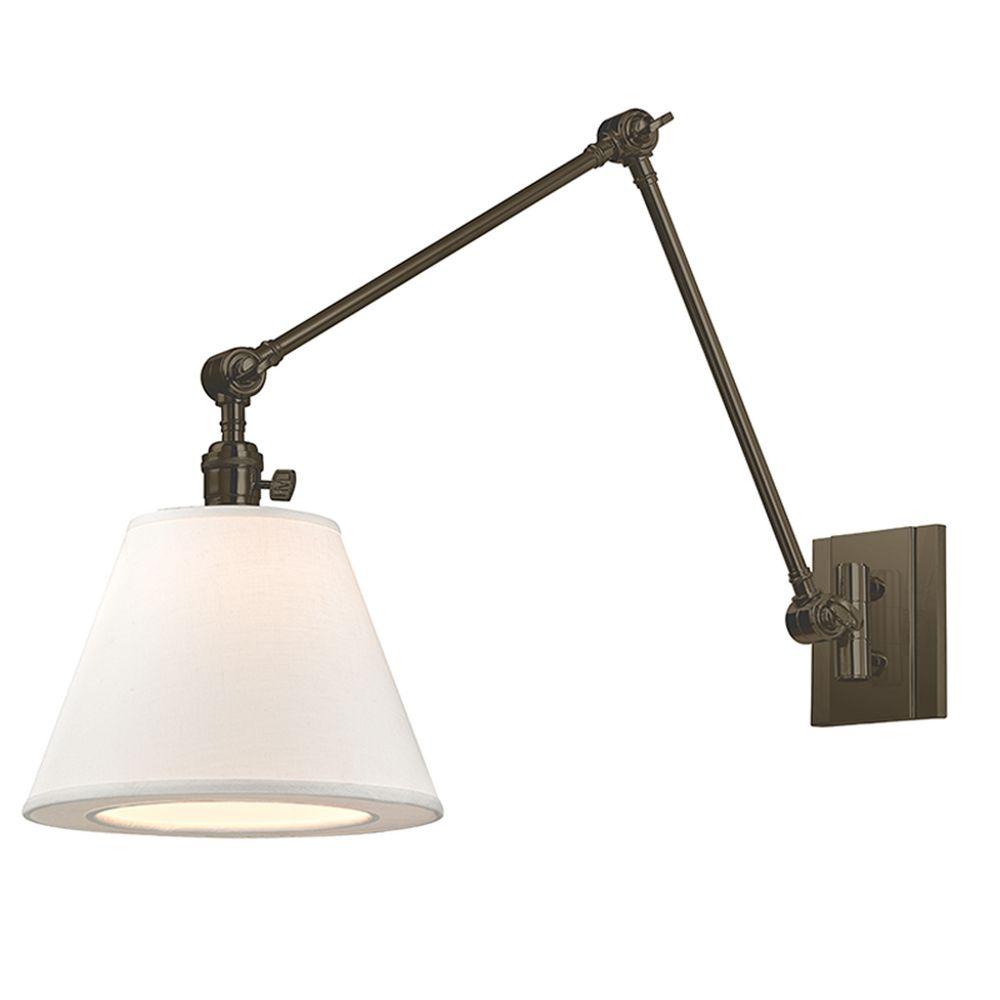 Hudson Valley Emergency Lighting: Hudson Valley Lighting Hillsdale Old Bronze Swing Arm Lamp