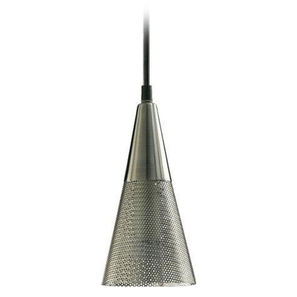 Wire Pendant Light Quorum Lighting 1315 65 Satin Nickel Mini Pendant Light With Wire