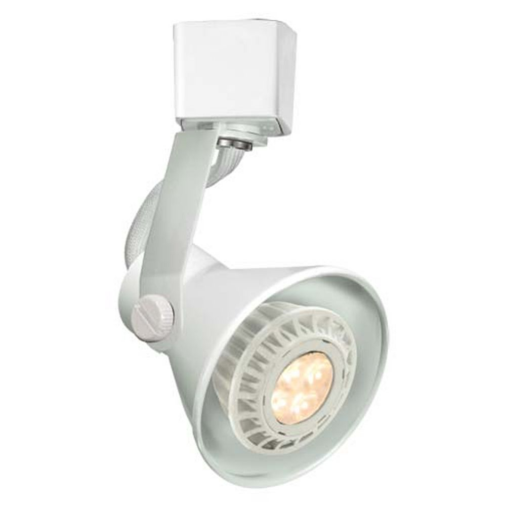 wac lighting white led track light head ltk 103led wt destination lighting. Black Bedroom Furniture Sets. Home Design Ideas