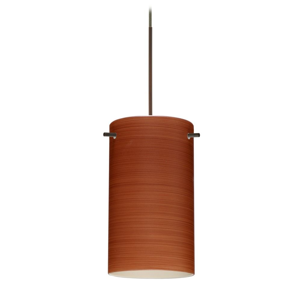 besa lighting besa lighting stilo 7 bronze mini pendant light with