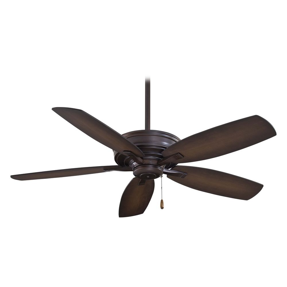 Ceiling Fan Without Light In Kocoa Finish