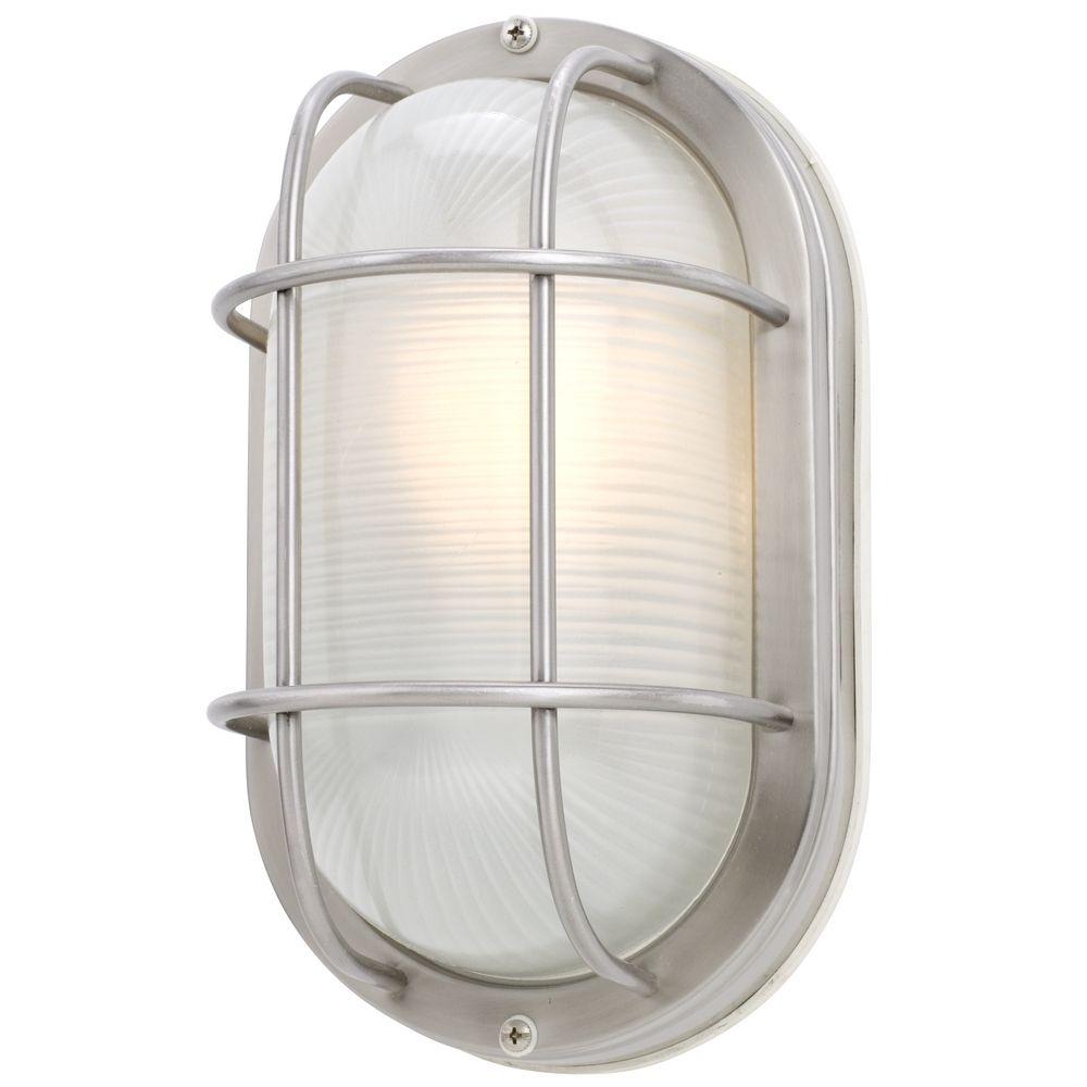 Design classics lighting 11 inch oval bulkhead light 39956 ss