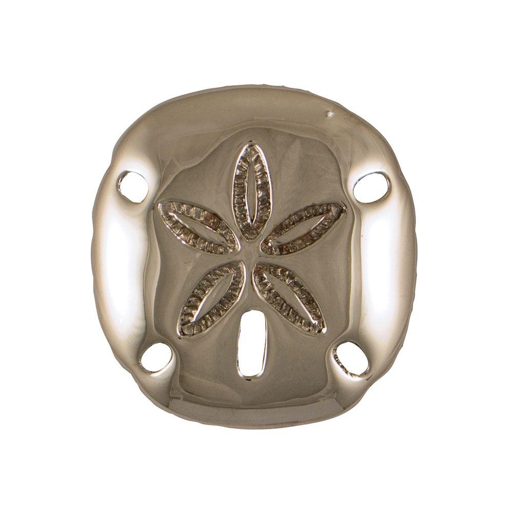 Door knocker in nickel silver finish mh1213 destination lighting - Door knocker nickel ...