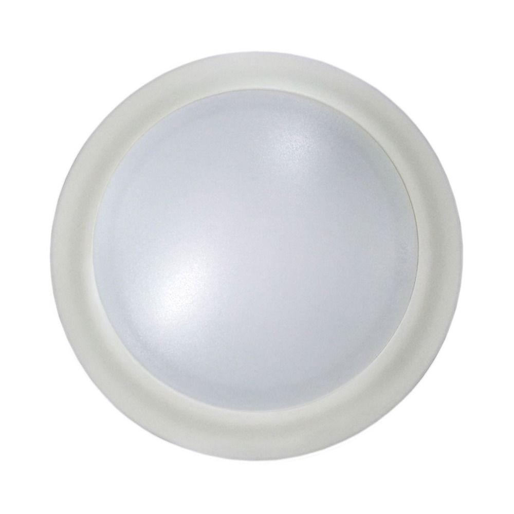 led low profile white flush mount ceiling light 60 watt equivalent dfr615 835 wh 3500k 80cri. Black Bedroom Furniture Sets. Home Design Ideas