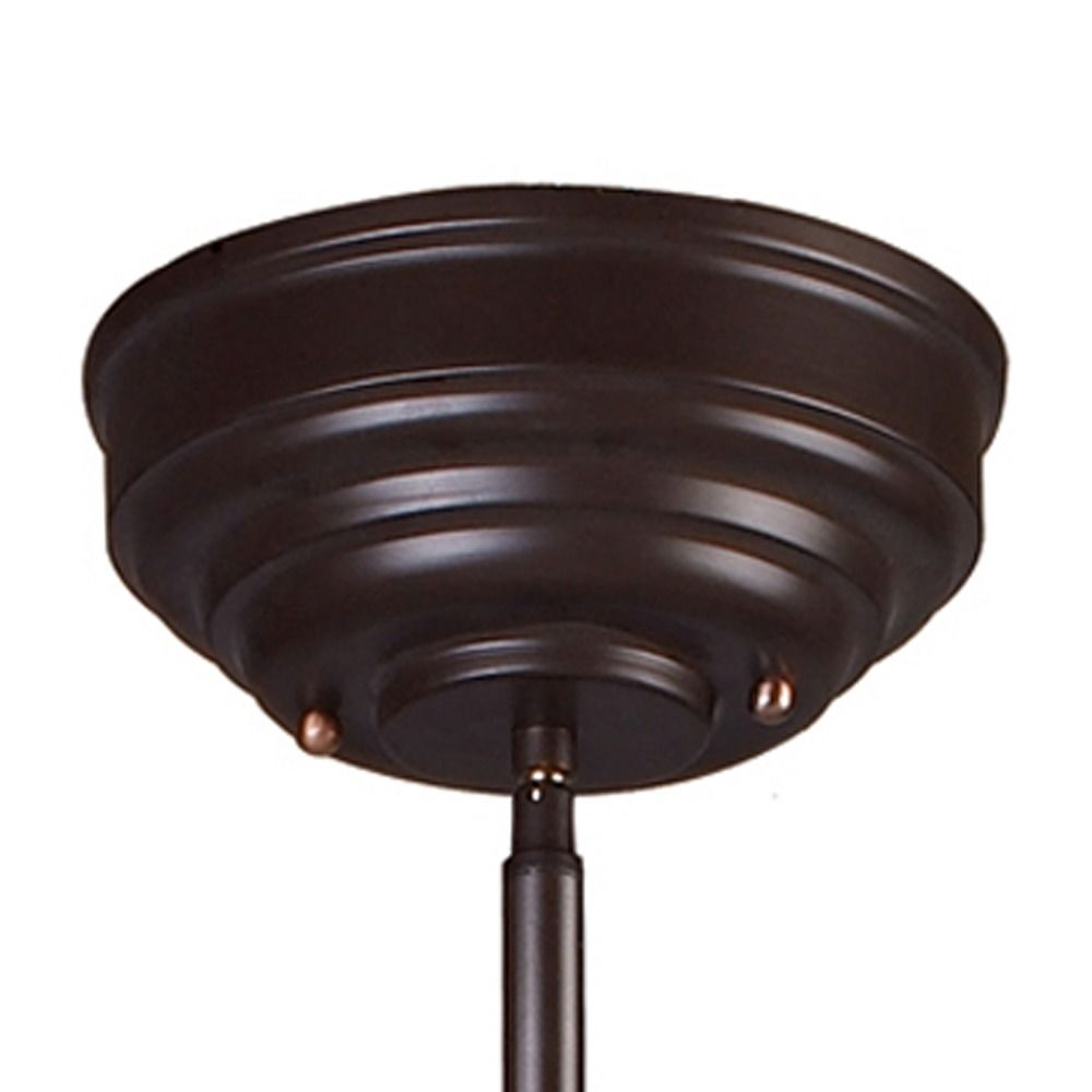 Chadwick 3 Light Pool Table Light: Elk Lighting Chadwick Oiled Bronze LED Billiard Light With