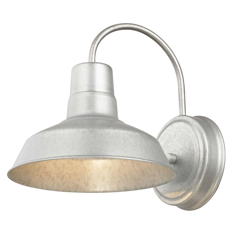 Barn Light Covers: Barn Light Galvanized 8.5-Inch Wide By Design Classics