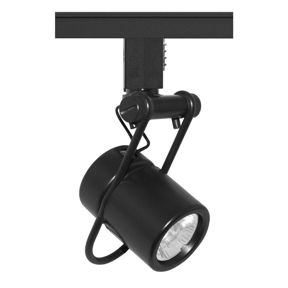 juno lighting group juno lighting group black track light head tl112bl. Black Bedroom Furniture Sets. Home Design Ideas