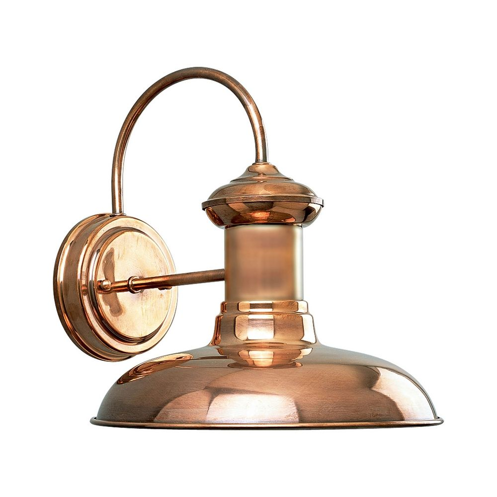 Progress Outdoor Wall Light in Copper Finish P5722-14 Destination Lighting