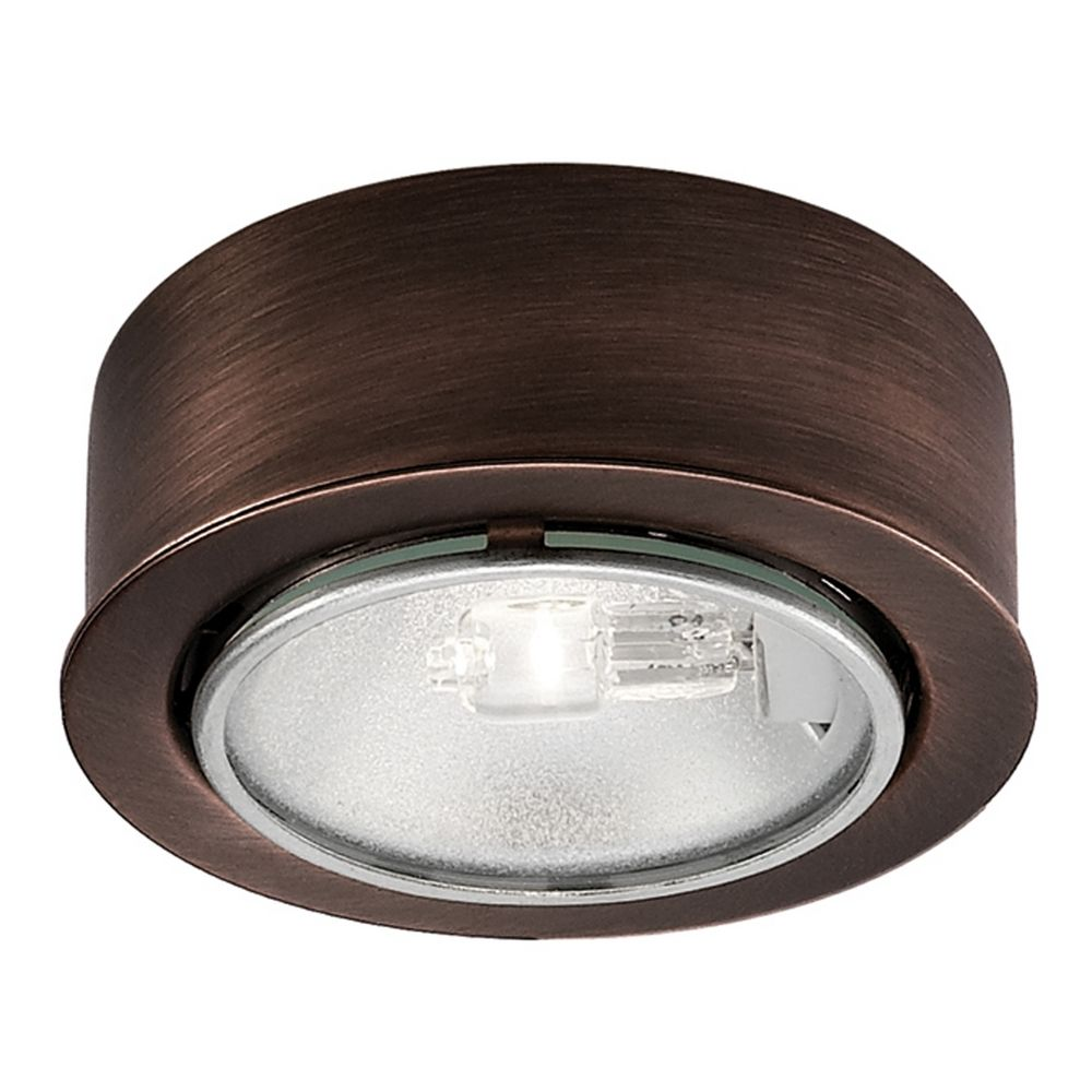 12v halogen puck light recessed surface mount bronze by wac hover or click to zoom aloadofball Choice Image