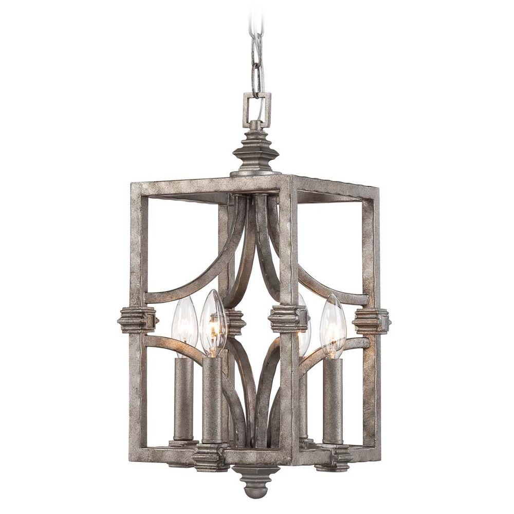 savoy house aged steel mini pendant light 3 4302 4 242 destination lighting. Black Bedroom Furniture Sets. Home Design Ideas