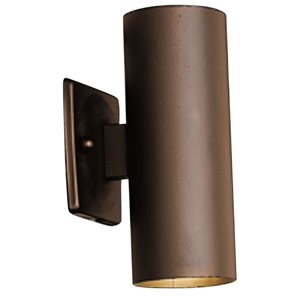 Low Voltage Wall Wash Lights : Kichler Low Voltage Two-Light Wall Wash 15079AZT Destination Lighting