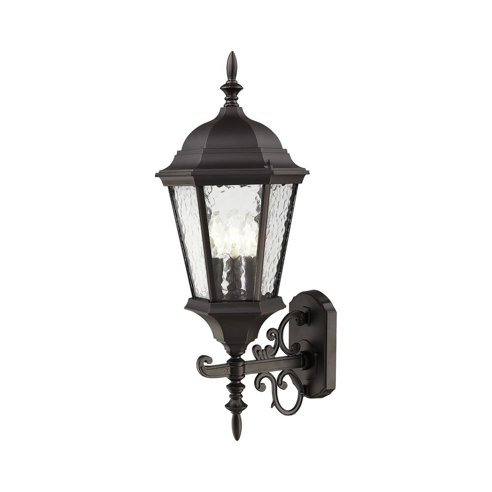 Industrial Lighting Hamilton: Livex Lighting Hamilton Bronze Outdoor Wall Light