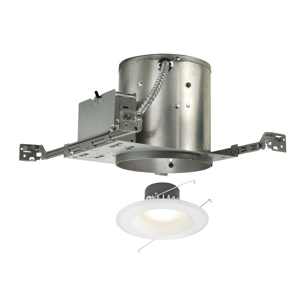 Led Recessed Lighting Kit New Construction : Led recessed lighting kit for new construction