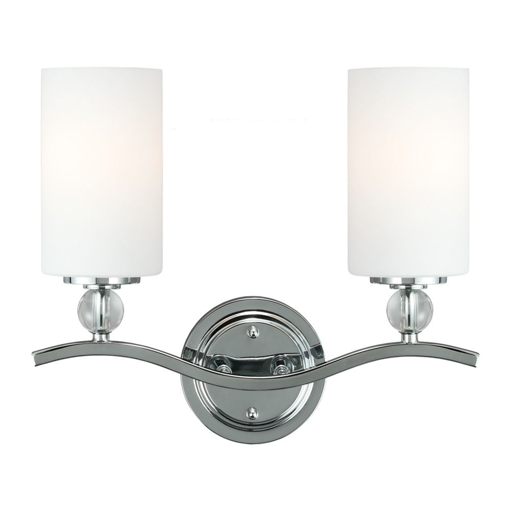 Sea Gull Lighting Products: Sea Gull Lighting Englehorn Chrome / Optic Crystal