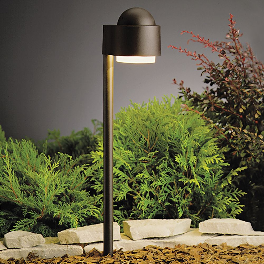 Kichler low voltage path light 15360azt destination for Volt landscape lighting
