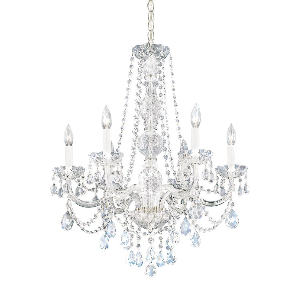 sixlight heritage crystal chandelier - Schonbek Lighting