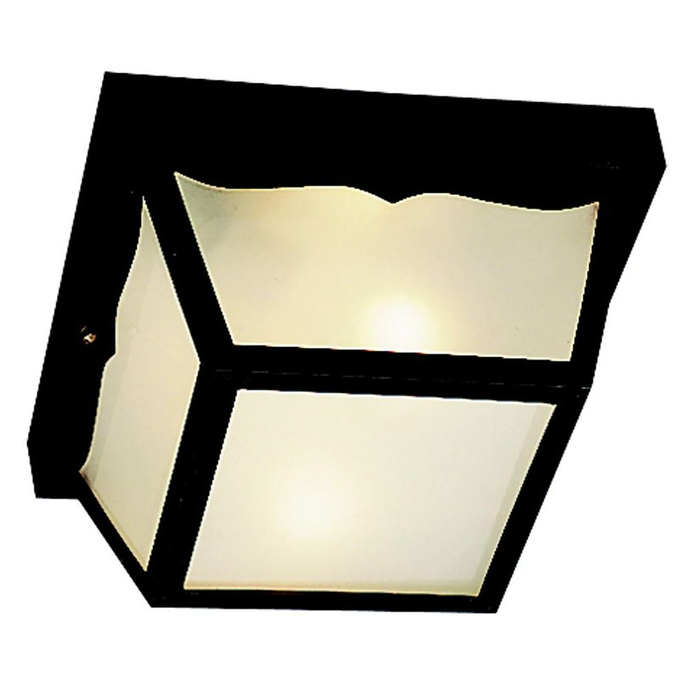 Close To Ceiling Modern Lights : Kichler modern close to ceiling light with white in black