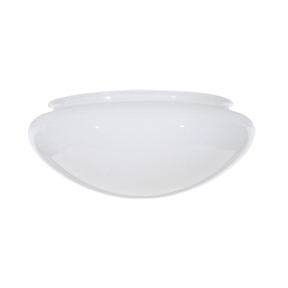 Replacement Mushroom Glass Shade for 6 Inch Flushmount Ceiling Lights