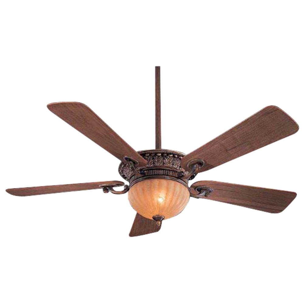 52 Inch Ceiling Fan With Five Blades And Light Kit F702