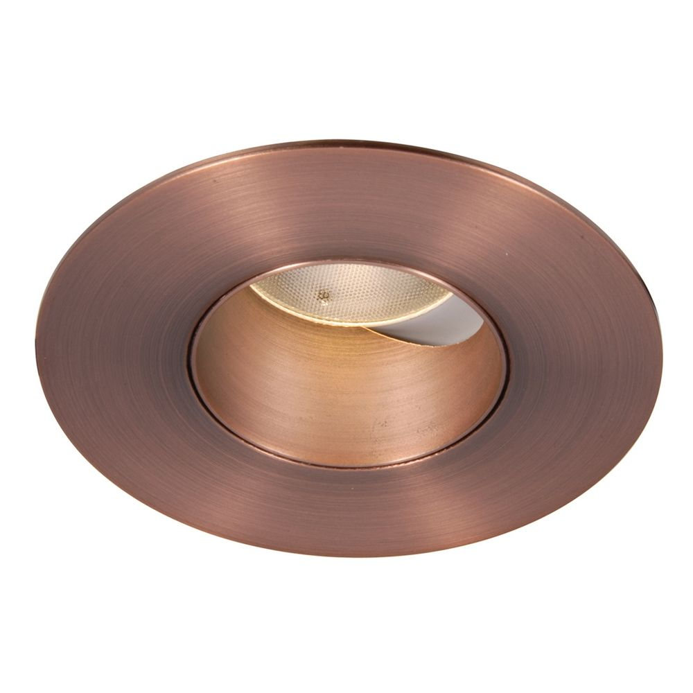 wac lighting copper bronze led recessed trim hr 2led t309f 35cb destinati. Black Bedroom Furniture Sets. Home Design Ideas