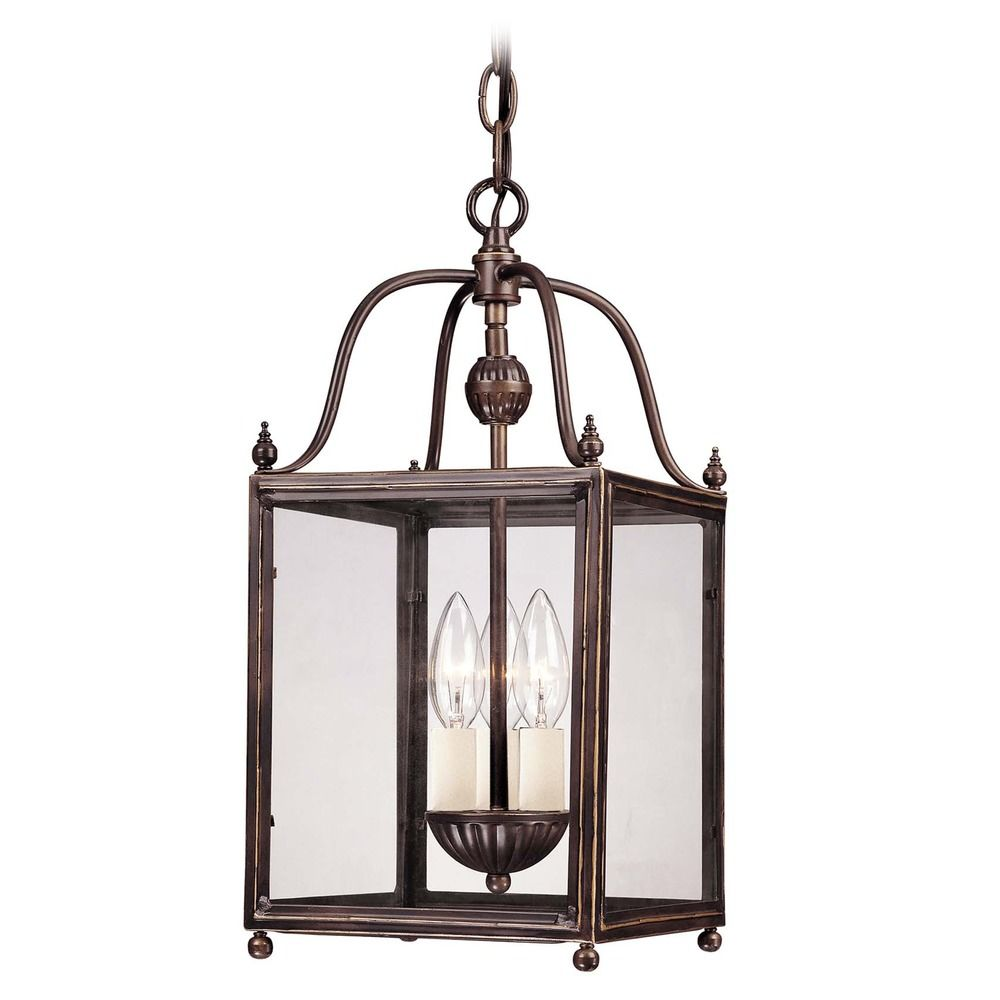 Foyer Light Switch: Savoy House Old Bronze Mini-Pendant Light With Square