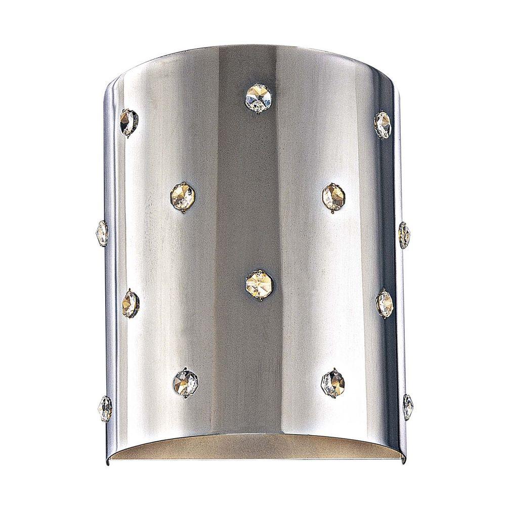 Modern Sconce Wall Light in Chrome Finish P037-077 Destination Lighting
