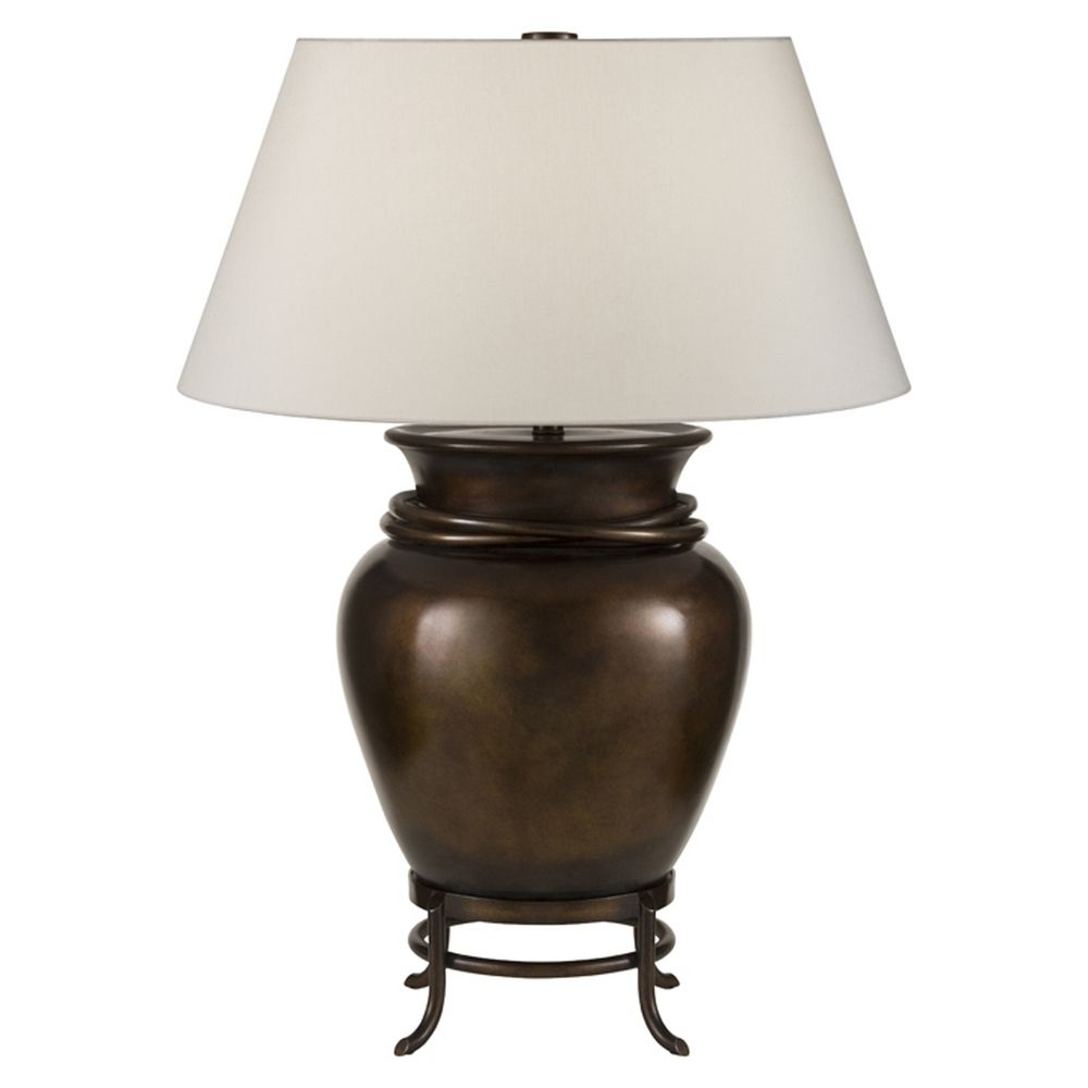 Fine Art Lamps Recollections Antiqued Gold Stained Silver Leaf Table Lamp With Drum Shade At Destination Lighting