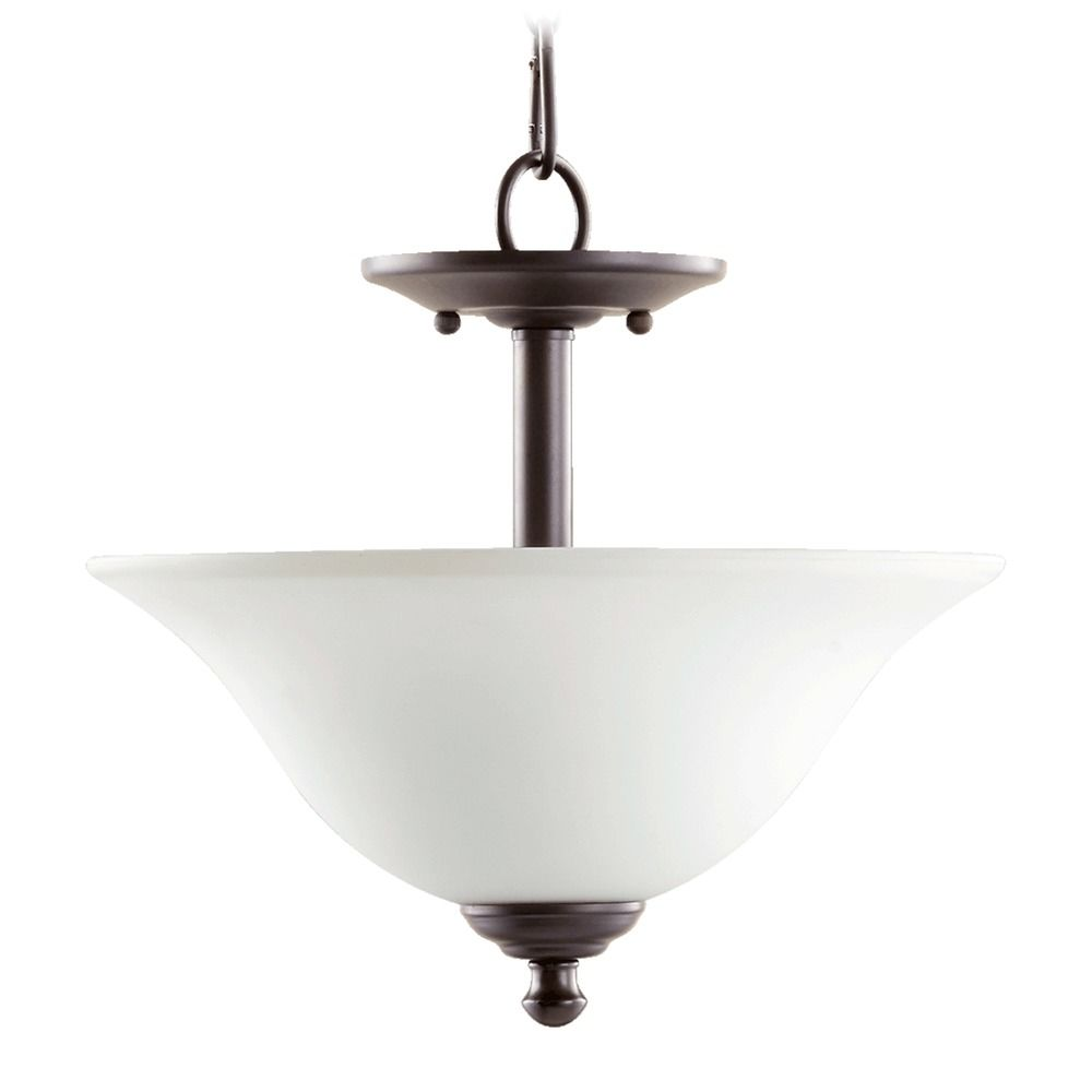 Quorum Track Lighting: Quorum Lighting Spencer Oiled Bronze Pendant Light With