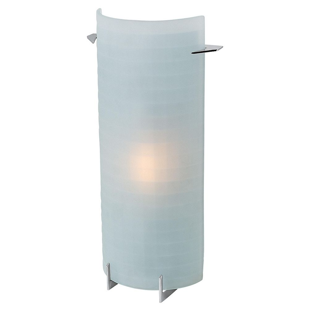 Vanity Lighting Vertical : Oxygen Brushed Steel Bathroom Light - Vertical Mounting Only 62060-BS/CKF Destination Lighting