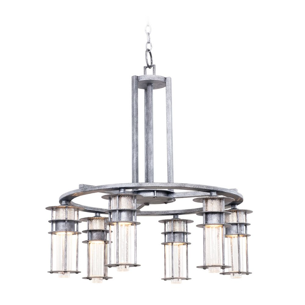 kalco lighting kalco lighting anchorage rugged iron chandelier 7297ri