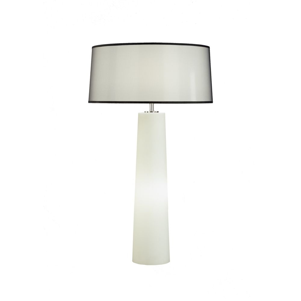 Robert Abbey Lighting Contemporary Table Lamp with Night Light ...