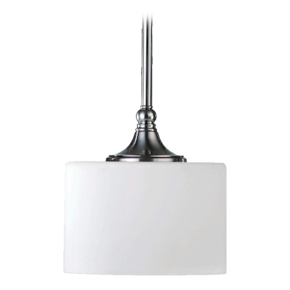Quorum Track Lighting: Quorum Lighting Rockwood Satin Nickel Mini-Pendant Light