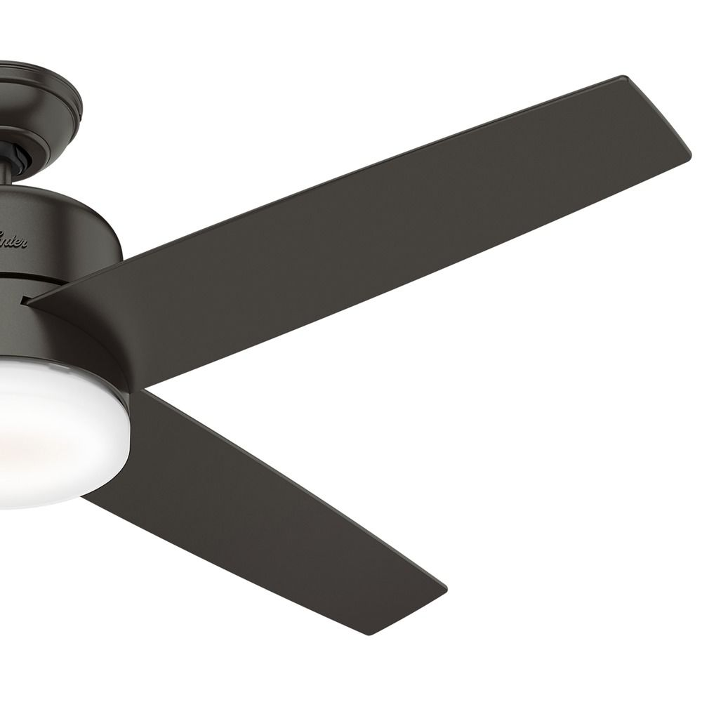 54 Inch Le Bronze Led Ceiling Fan