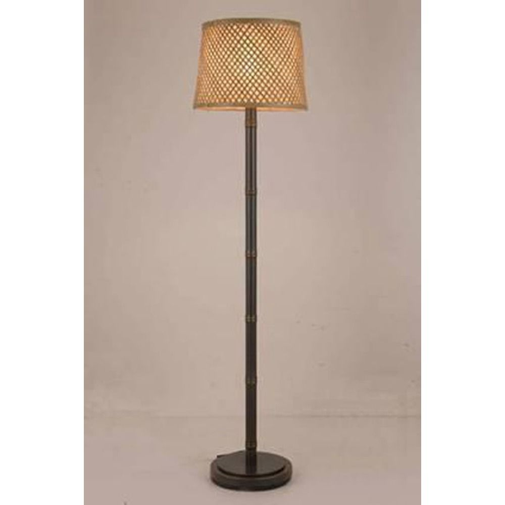 lighting lite source tamarice dark bronze floor lamp with drum shade. Black Bedroom Furniture Sets. Home Design Ideas